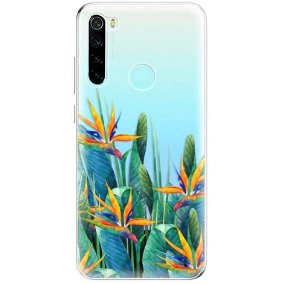 iSaprio Exotic Flowers na Xiaomi Redmi Note 8 - Kryt na mobil