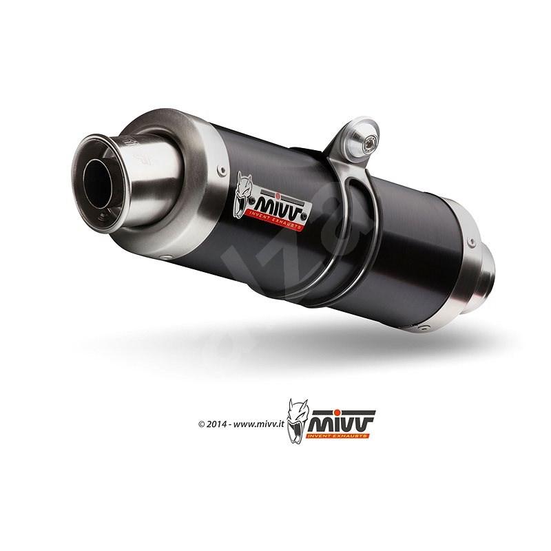 Mivv GP Black Stainless Steel pre Suzuki Gladius (2009 > 2015) - Koncovka výfuku