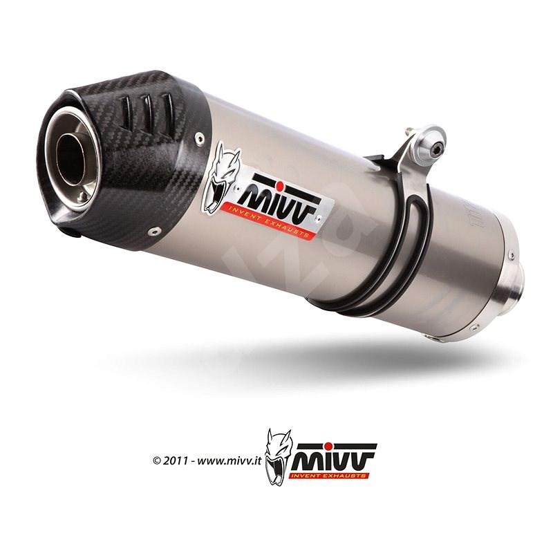 Mivv Oval Titanium/Carbon Cap Big pre Suzuki DL V-Strom 1000 (2014 >) - Koncovka výfuku