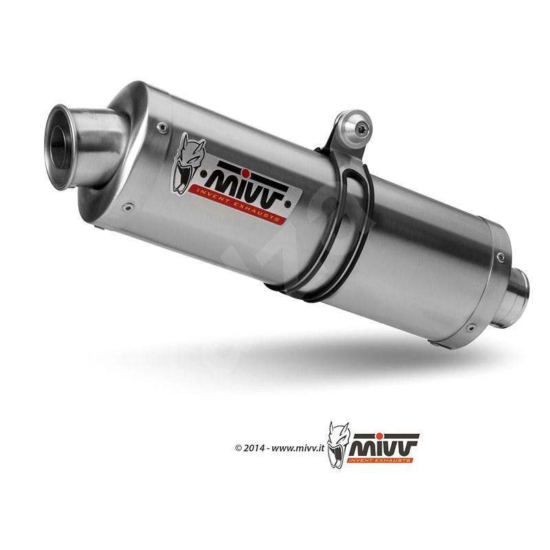 Mivv Oval Stainless Steel Big pre Suzuki DL V-Strom 1000 (2014 >) - Koncovka výfuku