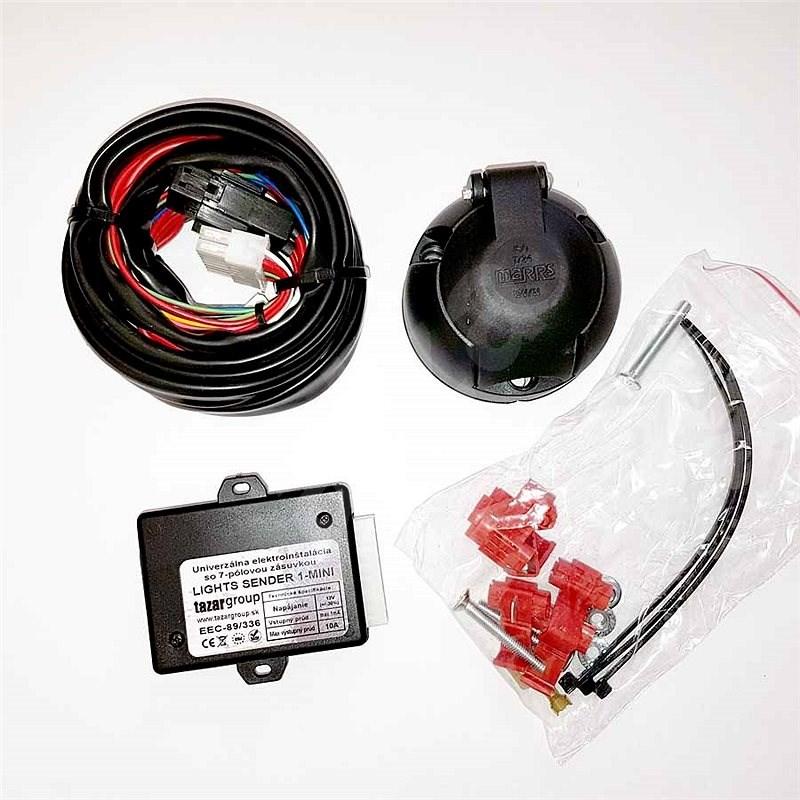 Tazar univerzálna elektroprípojka 7 pin - Elektroinštalácia ťažného zariadenia