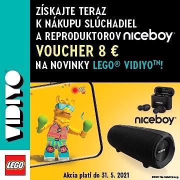 Dárkový poukaz na nákup produktů řady LEGO® VIDIYO™ v hodnotě 8 EUR - Voucher
