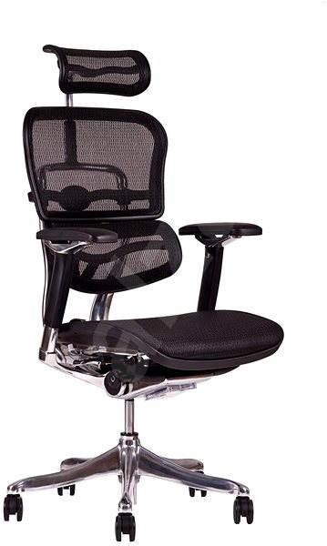 SIRIUS Q 24 čierna - Kancelárska stolička