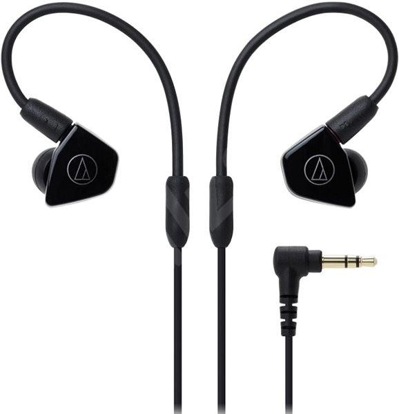 Audio-technica ATH-LS50iS black - Slúchadlá s mikrofónom