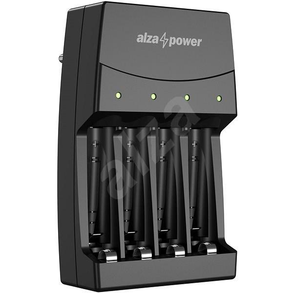 AlzaPower Quadro charger AP-400 - Nabíjačka akumulátorov