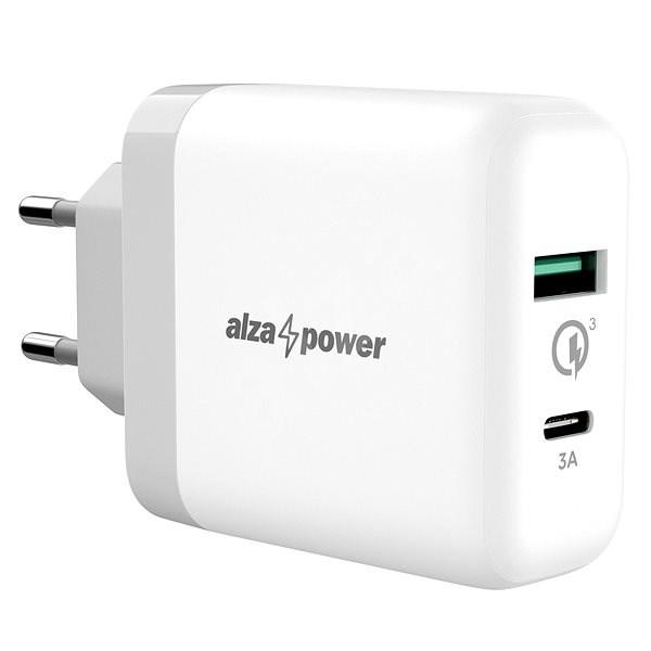 AlzaPower Q200C Quick Charge 3.0 White - Nabíjačka