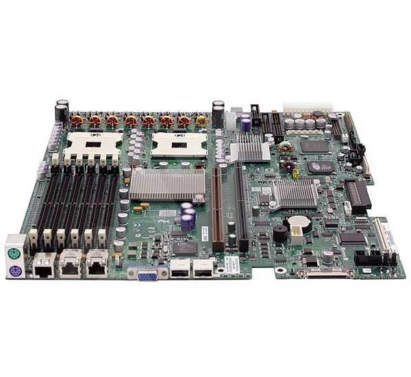 Intel SE7520JR2SCSID2 Jarrell, iE7520, 6x DDR2 400 ECC, SCSI RAID, int. VGA, USB2.0, 2xGLAN, 2x sc60 - Základní deska