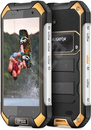Aligator RX550 eXtremo čierno-žltý - Mobilný telefón  2a12ea5d4ed