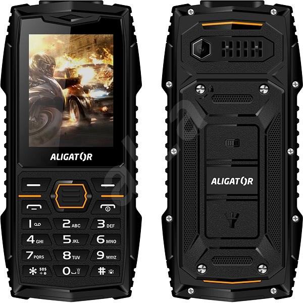 Aligator R15 eXtremo čierna - Mobilný telefón