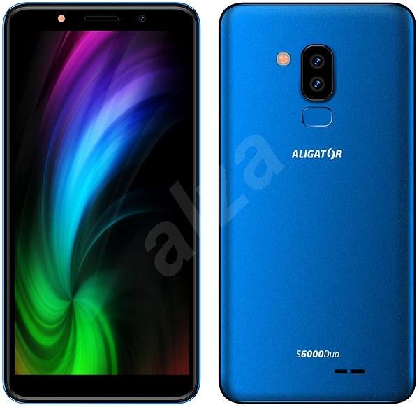 Aligator S6000 Duo modrá - Mobilný telefón