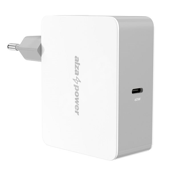 AlzaPower Power Charger PD60C White - Nabíjačka