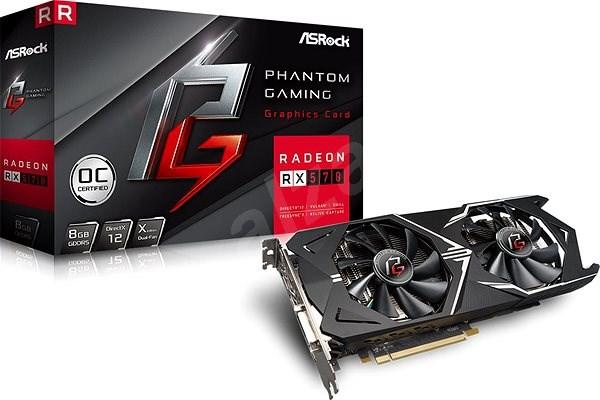 ASROCK Radeon RX570 Phantom Gaming X 8G OC - Grafická karta