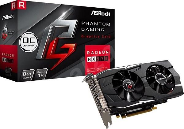 ASROCK Radeon RX570 Phantom Gaming D 8G OC - Grafická karta
