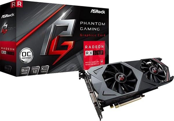 ASROCK Radeon RX 590 Phantom Gaming X 8G OC - Grafická karta