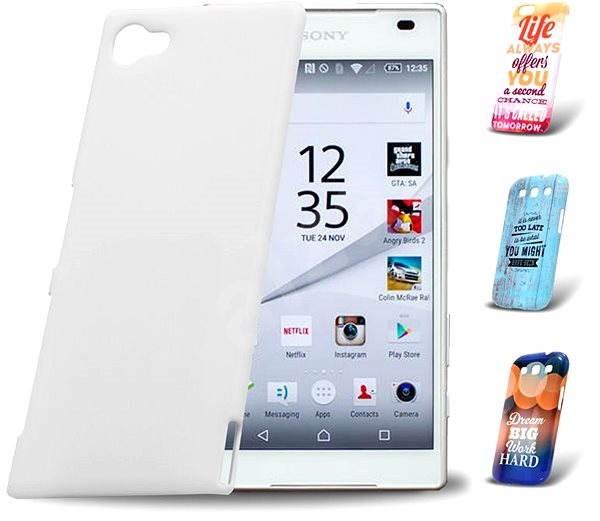Skinzone vlastní styl Snap pro Sony Xperia Z5 Compact - Ochranný kryt Vlastný štýl