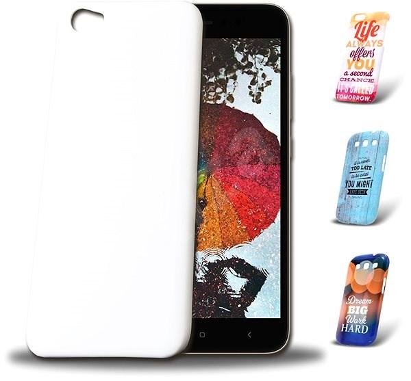 Skinzone vlastný štýl Snap kryt pre XIAOMI RedMi 5A Global - Ochranný kryt Vlastný štýl