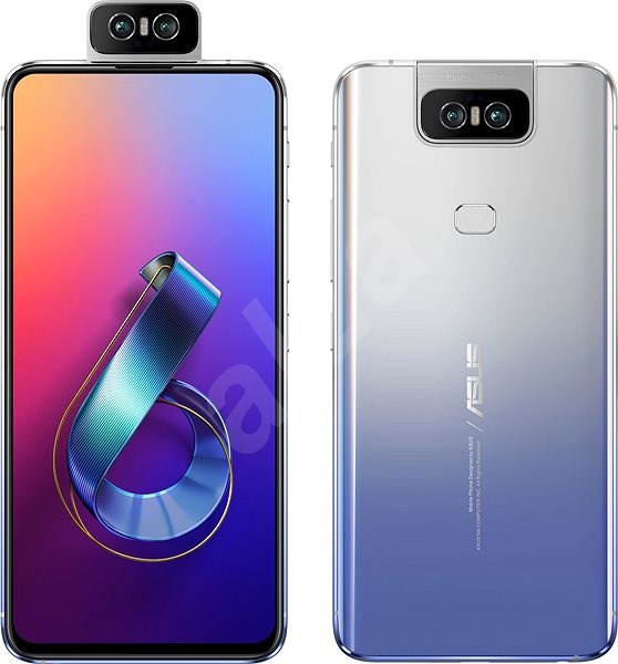 60bc103c6b Asus Zenfone 6 ZS630KL 256 GB strieborný - Mobilný telefón
