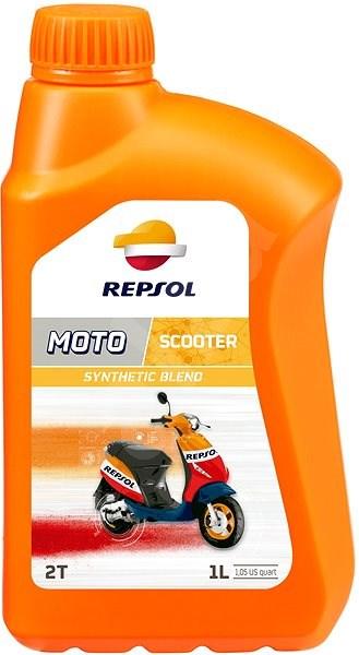 REPSOL MOTO SCOOTER 2T 1 l - Motorový olej