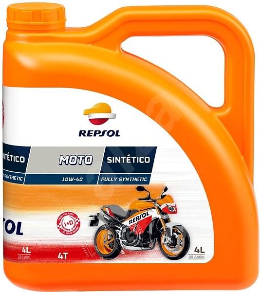 MOTO SINTETICO 4-T 10W-40, 4 l - Motorový olej