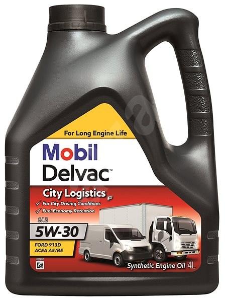 MOBIL DELVAC CITY LOGISTICS F 5W-30 4 l - Motorový olej