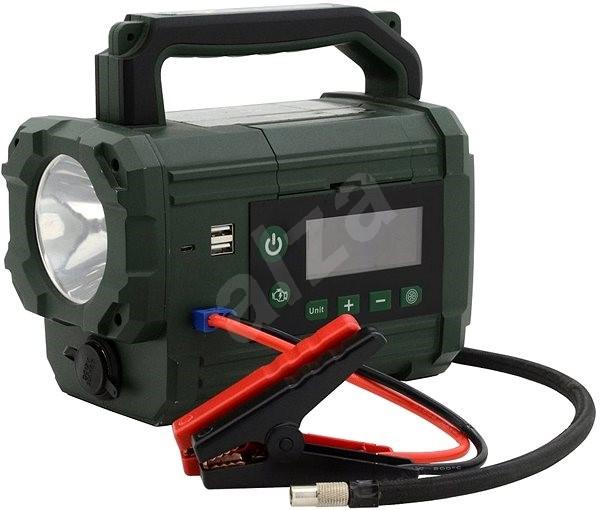 COMPASS Kompresor/zdroj AKU Power starter 300 A LiFePO4 - Kompresor