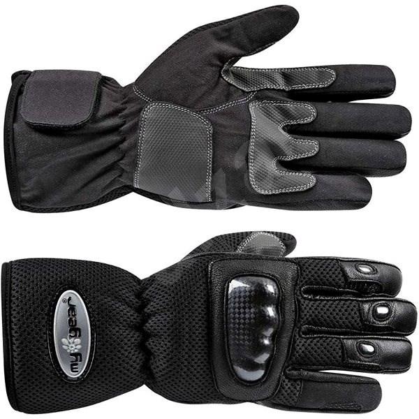 MyGear NET-FLY textil s protektormi veľ. L - Rukavice na motorku ... bab5507c32