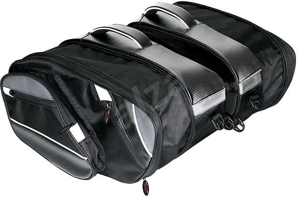 418ade5d0b684 LAMPA Moto brašne sedlové, 25-37L, 2ks - Moto taška   Alza.sk