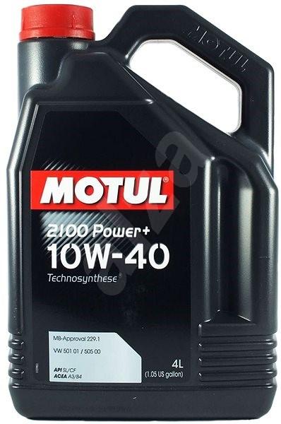 MOTUL 2100 POWER+ 10W40 4 L - Motorový olej