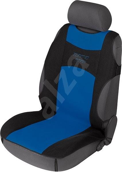 607f18aea47aa Walser poťahy sedadiel na predné sedadlá autotričko Tuning Star  čierno-modré - Autopoťahy