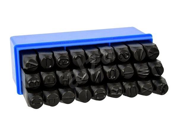 GEKO Razidlá písmenkové 10 mm, 27 ks - Náradie
