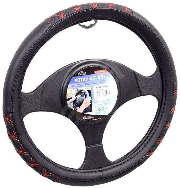 Compass Poťah volantu BLIND červený - Poťah na volant