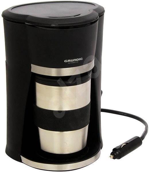 Grundig 29999 Autokávovar 12 V s nerezovým termohrnčekom - Kávovar