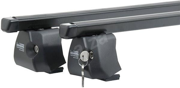DIHENG strešný nosič FABIA III zámok čierny – liftback - Strešné nosiče