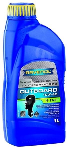 RAVENOL Outboardoel 4T SAE 10W-40; 1 L - Motorový olej