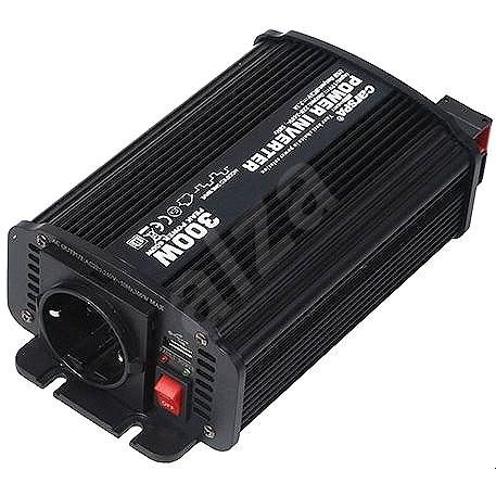 Carspa CAR300U-24 24 V/230 V + USB 300 - Menič napätia