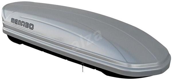 MENABO Mania 400 ABS strieborný - Strešný box