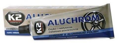 K2 ALUCHROM 120 g – pasta na čistenie a leštenie kovových povrchov - Leštiaca pasta
