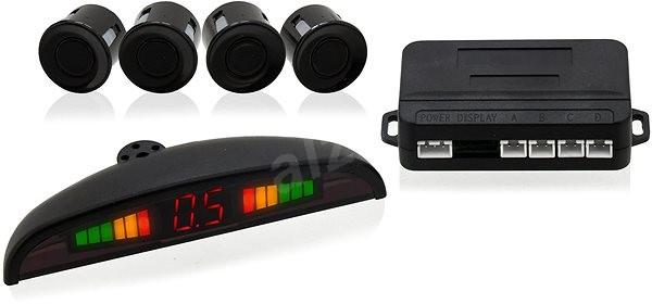 COMPASS Parkovací asistent 4 senzory, LED displej, bezdrôtový - Parkovací senzor