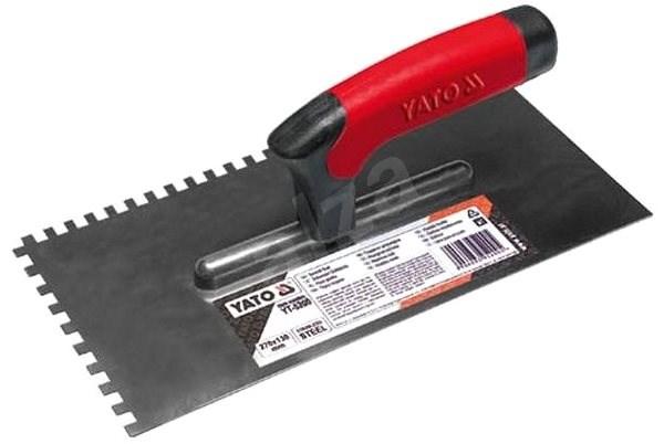 Yato Hladidlo 270 × 130 mm, zuby 8 × 8 mm - Murárske hladidlo
