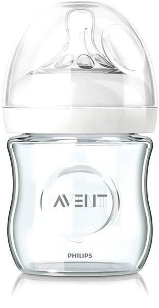 Philips AVENT dojčenská fľaša Natural, 120 ml - sklenená - Fľaša na pitie pre deti