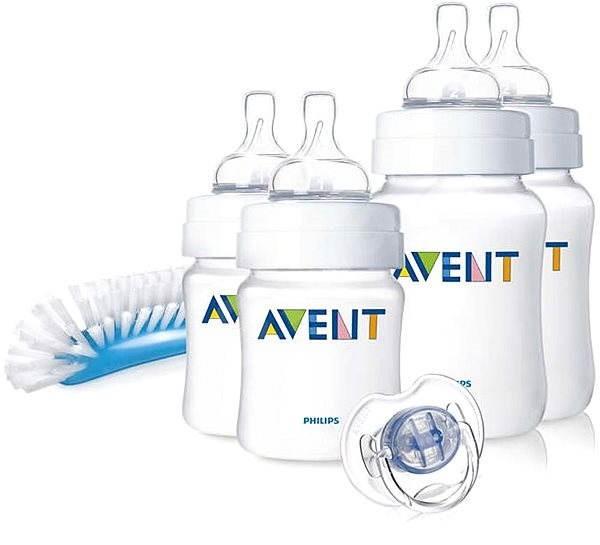 Philips AVENT Novorodenecká štartovacia sada Classic+ - Sada dojčenských  fliaš af35462a3d8