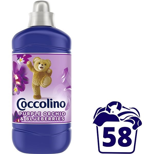 COCCOLINO Creations Purple Orchid & Blueberry 1,45 l (58 praní) - Aviváž