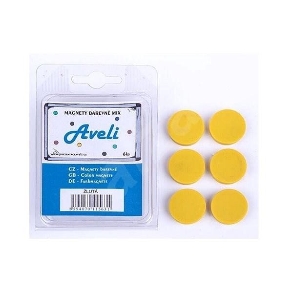 AVELI žltý - Magnet