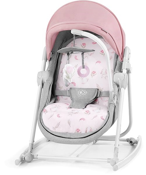 Kinderkraft Unimo 5 v 1 Peony Rose 2020 - Detské ležadlo