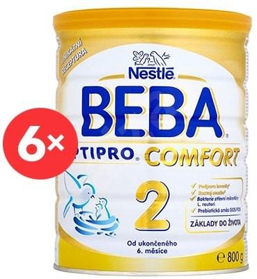 a134b4518 BEBA OPTIPRO COMFORT 2 (6× 800 g) - Dojčenské mlieko   Alza.sk