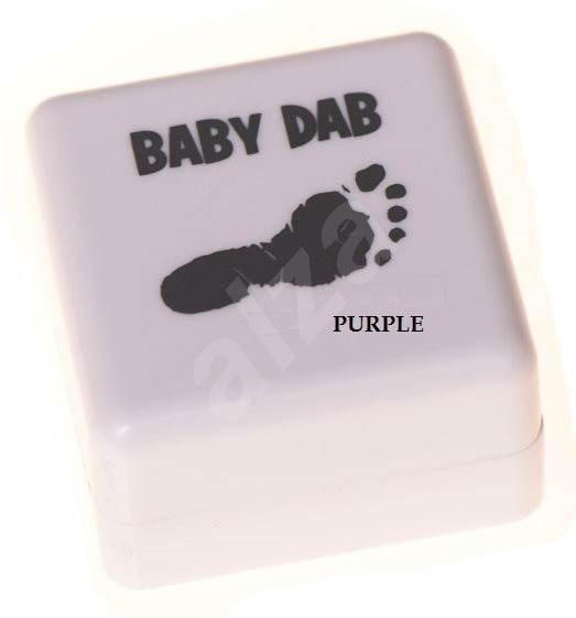 44c43825e Baby Dab na detské odtlačky – fialová - Detská darčeková sada