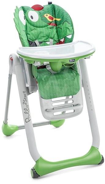 Chicco Polly 2 Start - CROCODILE - Jedálenská stolička | Alza sk