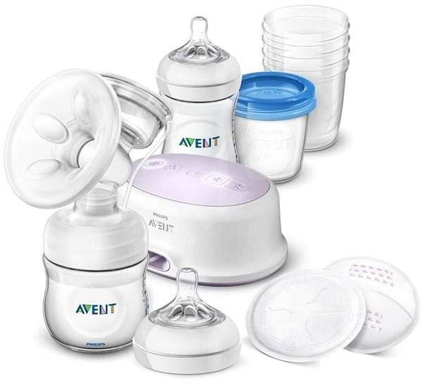 Philips AVENT Natural SCD223/20 + súprava pre dojčenie - Odsávačka na mlieko