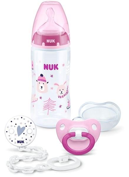 NUK FC+ Set Winter ružový - Detská súprava