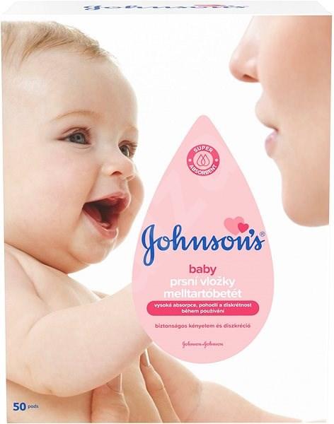 JOHNSON'S BABY prsné vložky 50 ks - Prsné vložky